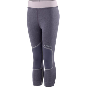 Houdini Kids Alpha Long Johns Greystone Purple